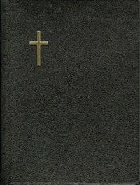 Virsikirja (taskuvirsikirja KPV36, 90x120 mm, musta, nahkakantinen)