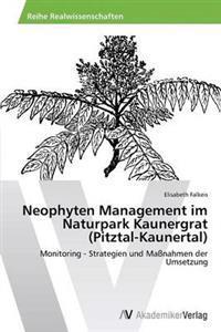 Neophyten Management Im Naturpark Kaunergrat (Pitztal-Kaunertal)
