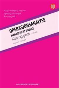 Operasjonsanalyse; kort og godt