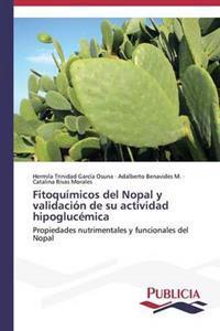 Fitoquimicos del Nopal y Validacion de Su Actividad Hipoglucemica
