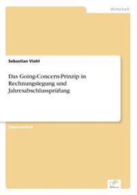 Das Going-Concern-Prinzip in Rechnungslegung Und Jahresabschlussprufung