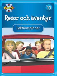Uppdrag X - Blåa böckerna Tema Resor och äventyr