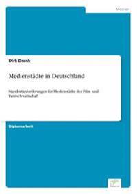 Medienstadte in Deutschland