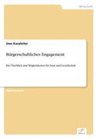 Burgerschaftliches Engagement