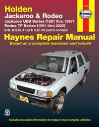 Holden Rodeo & Jackaroo (91 - 02)