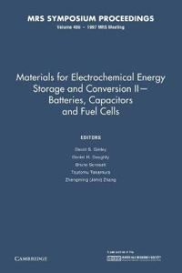 Materials for Electrochemical Energy Storage and Conversion II