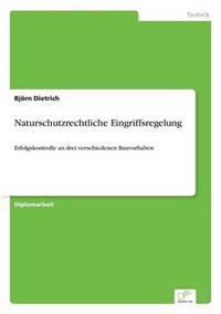 Naturschutzrechtliche Eingriffsregelung