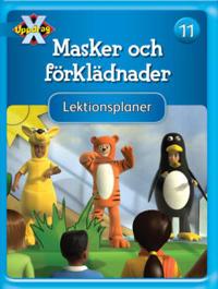 Uppdrag X - Blåa böckerna Tema Masker och förklädnader