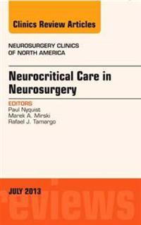 Neurocritical Care in Neurosurgery