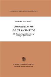 Commentary on De Grammatico