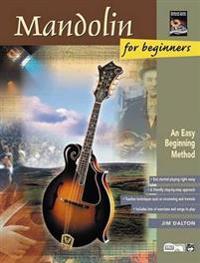 Mandolin for Beginners: An Easy Beginning Method, Book & CD