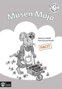Musen Maja : övningar i läsförståelse. Facit