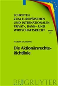 Die Aktionarsrechte-richtlinie