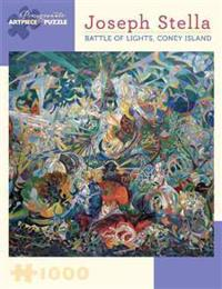 Joseph Stella - Battle of Lights, Coney Island