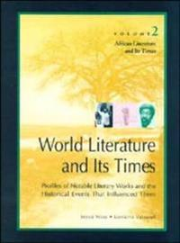 African Literature and Its Times
