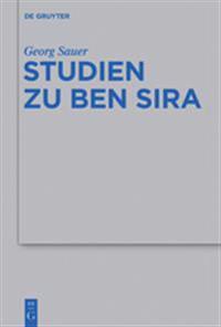 Studien Zu Ben Sira