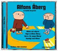 Alfons Åberg (blå) - 4 sagor med Afons Åberg