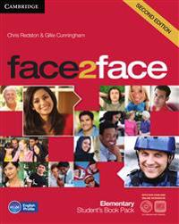 face2face. Student's Book with DVD-ROM and Online Workbook Pack. Elementary 2nd edition