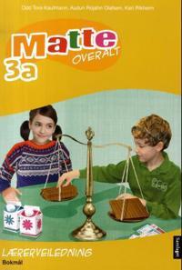 Matte overalt 3a - Odd Tore Kaufmann, Audun Rojahn Olafsen, Kari Rikheim pdf epub