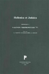 Hellenica Et Judaica. Hommage a Valentin Nikiprowetzky.