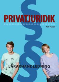 Privatjuridik Lärarhandledning