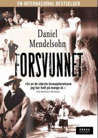 Forsvunnet - Daniel Mendelsohn | Inprintwriters.org