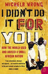 I didnt do it for you - how the world used and abused a small african natio