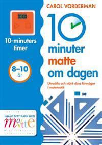 10 minuter matte om dagen 8-10 år