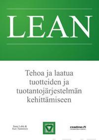 Lean - Tehoa ja laatua tuotteiden ja tuontantojärjestelmän kehittämiseen