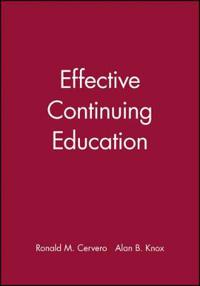 Effective Continuing Education