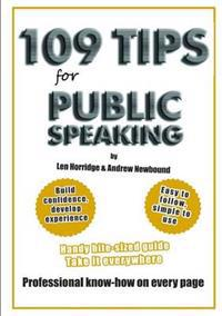 109 TIPS for Public Speaking