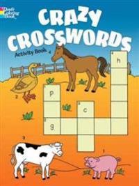 Crazy Crosswords Activity Book