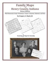 Family Maps of Henry County, Indiana