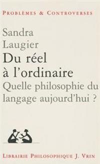 Du Reel A L'Ordinaire: Quelle Philosophie Du Langage Aujourd'hui?