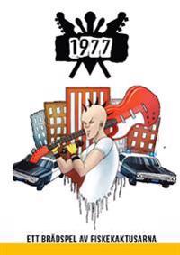 1977 Punkspelet : ett brädspel av fiskekaktusarna
