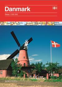 Danmark vägkarta