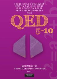 QED 5-10; matematikk for grunnskolelærerutdanningen; bind 2
