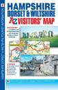 Hampshire, DorsetWiltshire Visitors Map