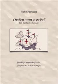 Orden som nyckel till kulturhistorien - Rune Persson pdf epub
