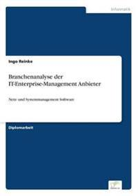 Branchenanalyse Der It-Enterprise-Management Anbieter