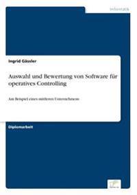 Auswahl Und Bewertung Von Software Fur Operatives Controlling