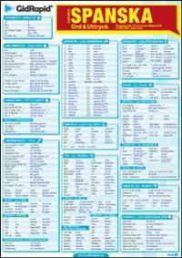 Spanska Ord & Uttryck - Snabbguide till ett grundläggande ordförråd i spanska