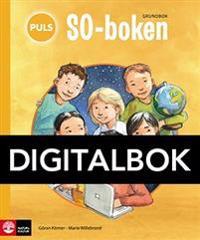 PULS SO-boken 1-3 Grundbok Digital, tredje upplagan