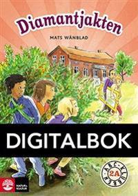 ABC-klubben åk 2 Diamantjakten Läsebok A Digital - Mats Wänblad - böcker (9789127436862)     Bokhandel