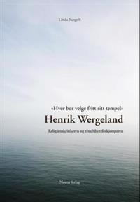 Henrik Wergeland - Linda Sangolt | Ridgeroadrun.org