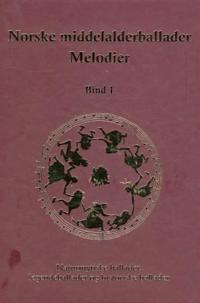 Norske middelalderballader, melodier -  pdf epub