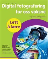 Digitalfotografering for oss voksne - Nick Vandome | Inprintwriters.org