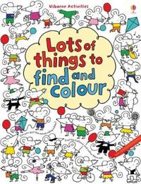 Lots of Things to Find and Colour - Fiona Watt - pocket (9781409523000)     Bokhandel