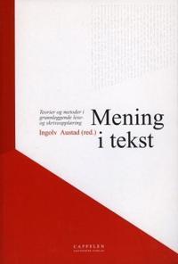 Mening i tekst -  pdf epub