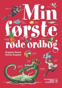 Min første røde ordbog - engelsk-dansk, dansk-engelsk